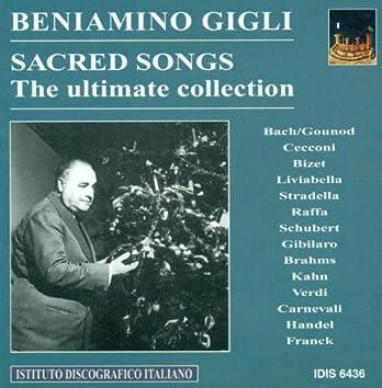 Vocal Recital: Gigli, Beniamino - Carnevalli, V. / Franck, C. / Bach, J.S. / Gounod, C.-F. / Cecconi, G. / Brahms, J. / Kahn, P.B. (1932-1954)
