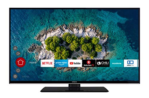 HITACHI U43K6000 109 cm (43 Zoll) Fernseher (4K Ultra HD, HDR10, Dolby Vision HDR, Triple Tuner, Smart TV, Works with Alexa, Bluetooth, PVR)