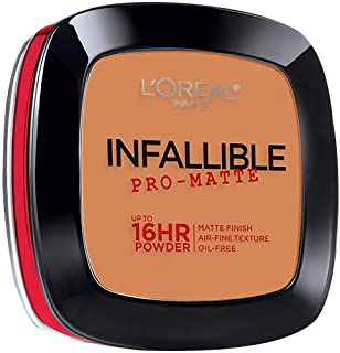L'Oréal Paris Infallible Pro-Matte Powder, Golden Beige, 0.31 oz.
