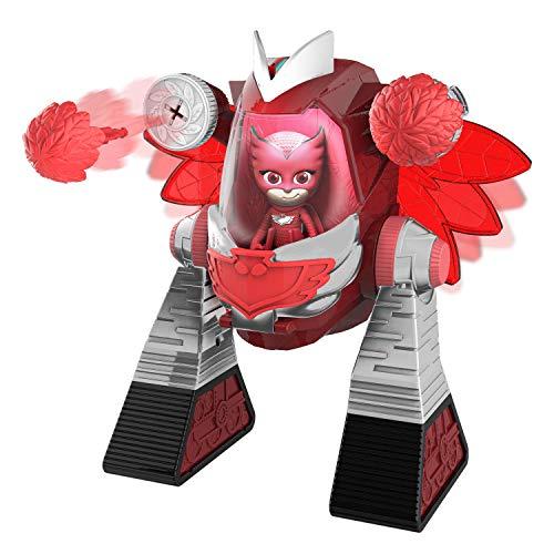 PJ Masks- Robot Turbo Movers Buhita, Gekko, Color Rojo (Bandai JP95507)