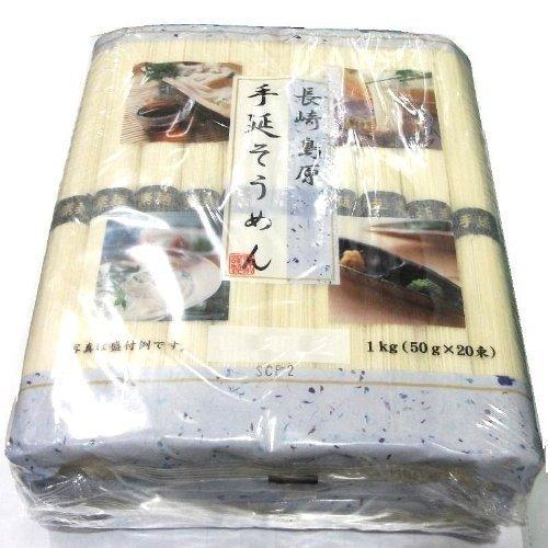 長崎島原 手延そうめん 1�s(50g×20束)×4パック