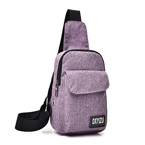 hongrun La Poitrine Pack Salon étudiant Simple Piscine Tour Single Shoulder Bag Sac Paquet Diagonale.