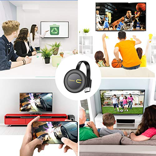 Yehua Wireless WiFi Display Dongle, HDMI Stick WiFi Anzeige Dongle WiFi Dongle Receiver,Unterstützung Miracast Airplay DLNA für iOS/ Android/Windows/Mac/TV/Monitor/Projector