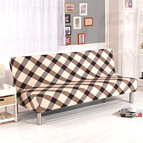 Cornasee Funda de Clic-clac elástica, Cubre/Protector sofá de 3 plazas,impresión Floral,B