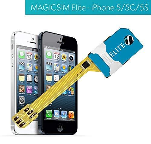 MAGICSIM ELITE para iPhone 5/5S/SE - Adaptador Dual SIM