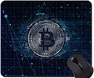 Yanteng Gaming Mouse Pad, Dollar Bitcoin Capital Personalized Rectangle Gaming Mouse Pads