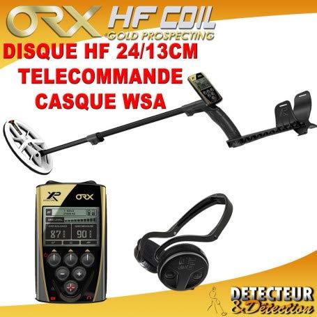 XP Metal Détecteur de métaux ORX - Disque Elliptique HF, télécommande et Casque sans Fil WSA
