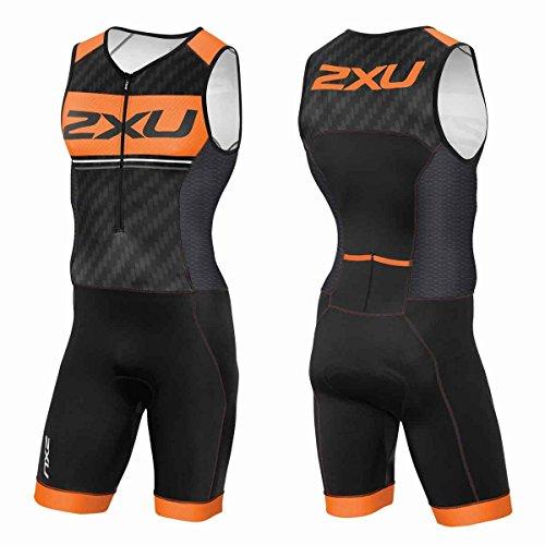 2XU Herren Perform Pro Trisuit Triathlon Einteiler, blk/Sbo, S