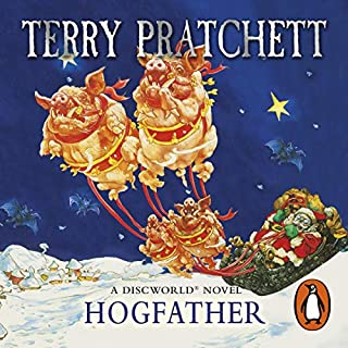 Hogfather                   By:                                                                                                                                 Terry Pratchett                               Narrated by:                                                                                                                                 Nigel Planer                      Length: 9 hrs and 45 mins     1,195 ratings     Overall 4.7