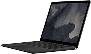 "Microsoft Surface Laptop 2, 13.5"" Multi-Touchscreen 2256x1504 PixelSense,Intel 8th Gen Quad Core i7-8650U 1.9Ghz,16GB RAM, 512GB SSD, Intel UHD Graphics 620, Eng Keyboard, Windows 10 Pro, Black"