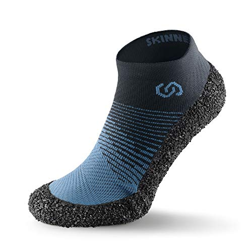 Skinners 2.0 Marine | Unisex Minimalistische Barfußschuhe für Damen & Herren | Minimalist Barefoot Socks/Shoes for Men & Women