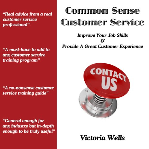 Common Sense Customer Service audiobook cover art