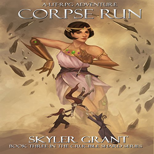Corpse Run: A LitRPG Adventure audiobook cover art