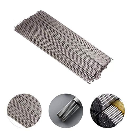 YARNOW Pinchos de Metal para Barbacoa de 100 Piezas Pinchos Reutilizables de 35CM para Cócteles Shish Kabob Elementos Esenciales para Fiestas