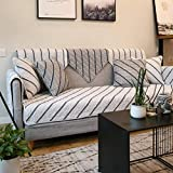 Funda antideslizante de algodón para sofá de exterior, acolchado de algodón grueso, sofá de cama de matrimonio, sillón reclinable y silla, funda de sofá de varios tamaños