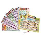 Giocattoli per l'apprendimento Arabo, Giocattolo Educativo Portatile Libro di Lettura in l...