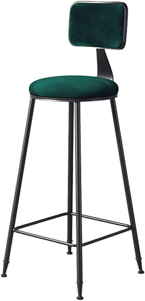 Chairs Bar Stools High Stool Max 73% OFF with Super sale period limited Back and Upholstered Sp Suede