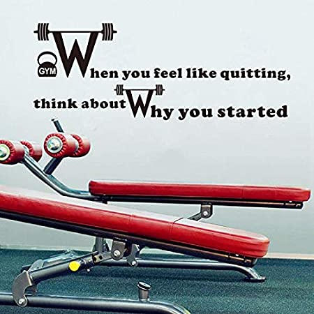 Like Quitting Fitness Motivation Quotes Vinyl Art Sticker Home Gym Wall Decals