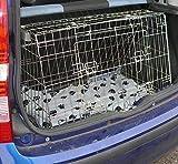 PET WORLD Fiat Panda Dog Puppy Pet inclinato trasporto auto viaggio formazione cassa, gabbia,