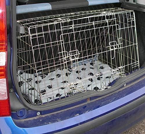 Fiat Panda Dog Puppy Pet Sloped Car Travel Training Carrier, gabbia