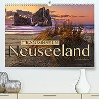 Trauminseln Neuseeland (Premium, hochwertiger DIN A2 Wandkalender 2022, Kunstdruck in Hochglanz): Eine traumhafte Bilderreise nach Neuseeland (Monatskalender, 14 Seiten )