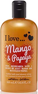 I Love. Mango & Papaya Bubble Bath And Shower Creme 500ml