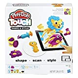 Hasbro Play-Doh Touch  - Compuestos para cerámica y modelaje (Pasta para modelar, Niños, Cubo de plástico, 5 Colores, 3 año(s))