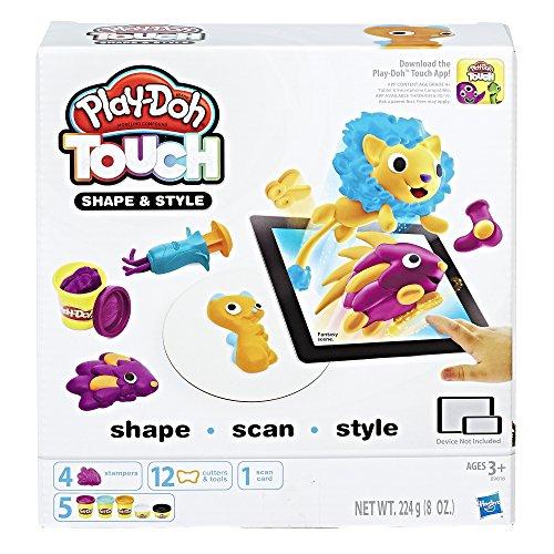 Play-Doh Hasbro B9018100 Touch Set de modelage pour Cheveux
