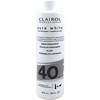 Clairol Pure White 40 Creme Developer Maximum Lift, 16 Ounces