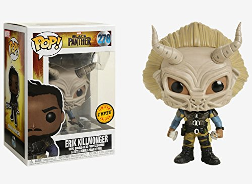 Desconocido Funko Pop! Marvel Black Panther Erik Killmonger Chase Variant Figure