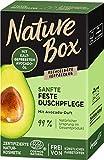 Nature Box Sanfte Feste Duschpflege mit Avocado-Duft, 100 ml