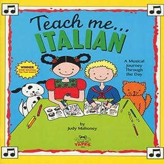 Teach Me Italian audiobook cover art