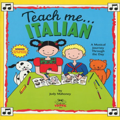 Teach Me Italian audiobook cover art