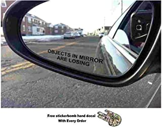 Best objects in mirror are losing car sticker Reviews
