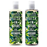 Faith In Nature Hemp and Meadowfoam Shampoo and Conditioner Duo Pack