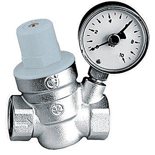 Thermador 61048 - R53320M Reductor de presión de 3/4'con manómetro