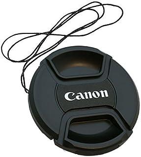 smars Center Pinch Front Camera Lens Cover for Canon DSLR (52 mm, Black)