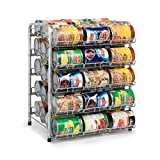 Rice rat Can Organizer for Pantry, Can Rack Can Storage Dispenser for Canned Foods (5-Tier Can)