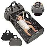 Infant Baby Travel Bed - Portable Bassinet Diaper Bag - Babies Nest Co Sleeper