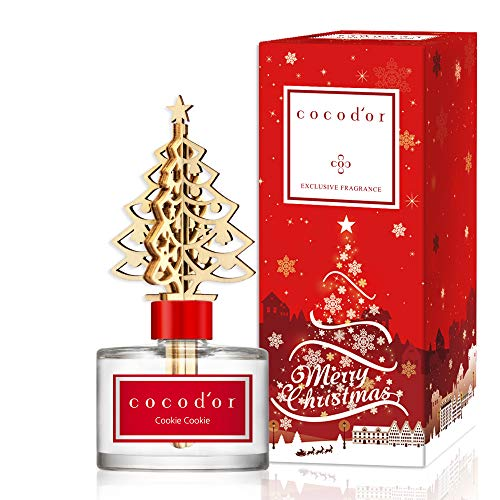 Cocodor Winter Diffuser/Cookie Cookie / 6.7oz(200ml) / 1 Pack/Reed Oil Diffuser, Room Fragrance, Home & Office Decor, X-MAS, Christmas