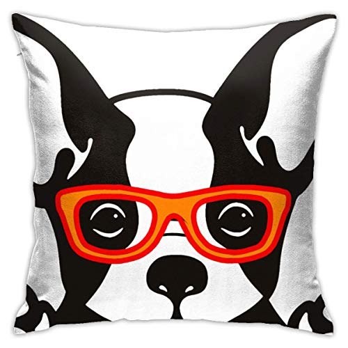 Moily Fayshow Cute French Bulldog (2) Pillowcase 40 X 40 Cm Home Decoration