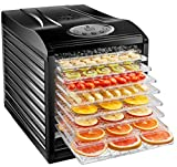 New House Kitchen 9 Dehydrator Machine Electric Food Preserver for Meat/Beef Jerky, Dried...
