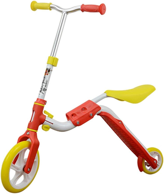 Skateboards Gelb 70cm Gegenseitige Umwandlung Geschenk Auto Kinderauto Roller Mehrzweck Roller (Farbe   Gelb, Größe   70  20  75cm) B07PMRFBS1  Leitende Mode
