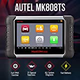 Autel MaxiCOM MK808TS TPMS Scanner with Complete TPMS and Sensor Programming, Diagnosis for All Systems and Combination of Service Functions , Same as MK808/MX808/MK808BT+TS608(upgraded TS601 orTS508)