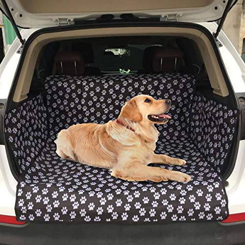 Adorrable Dog Car Seat Covers, Trunk Cargo Liner-Oxford...