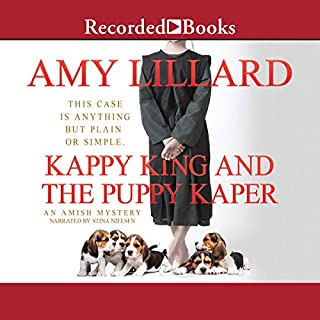 Kappy King and the Puppy Kaper audiobook cover art