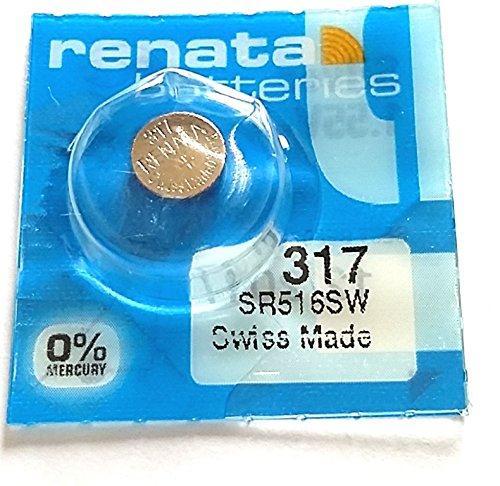 Zwei 317 SR516SW Batterie renata