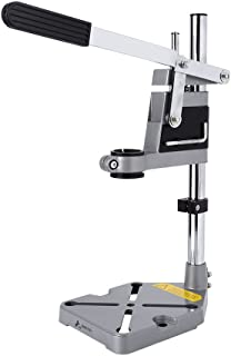 Yosoo Drill Press Stand Drill Stand Holder, Adjustable Bench Clamp Drill Press Stand Workbench Repair Tool for Drilling Collet Workshop Universal