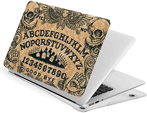 Laptop Case for MacBook Vintage Ouija Board Death Witch with Sunflower Hair Laptop Computer product image