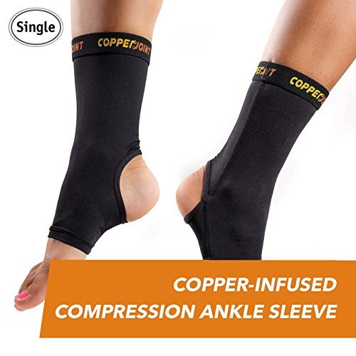 CopperJoint Compression Ankle Sleeve (Large)